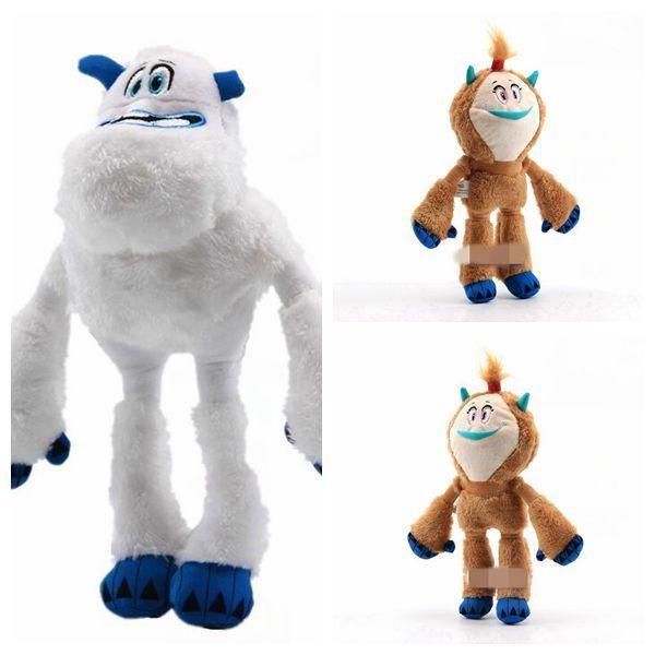 25cm Cartoon Anime Smallfoot Plush Toys Lovely Migo Kolka Stuffed Dolls Kids Toys For Collectible Birthday Christmas Gifts CCA11273 12pcs