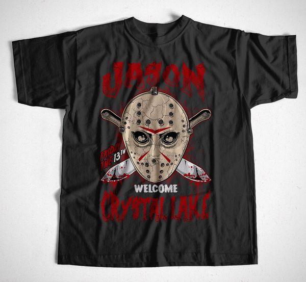 Bienvenido a Crystal Lake S 4xl Jason Horror Leather Face Descuento al por mayor Kruger 90