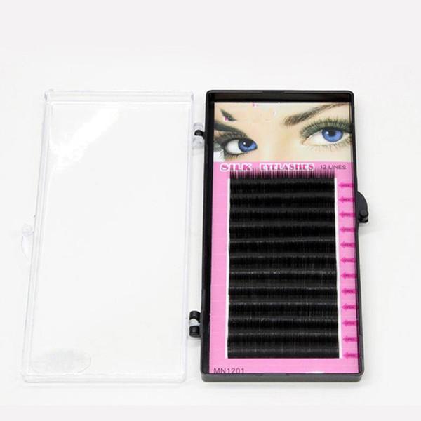 1pc Individual Eyelashes Extension for Women C Curve False Eyelash Artificial Fake Lashes Professionals Makeup Tools Volume Lash