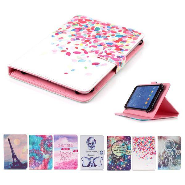 Impresso universal 7 polegada tablet case para xiaomi mi pad 3 2 casos kickstand casos tampa da aleta para xiao mi pad 7.9