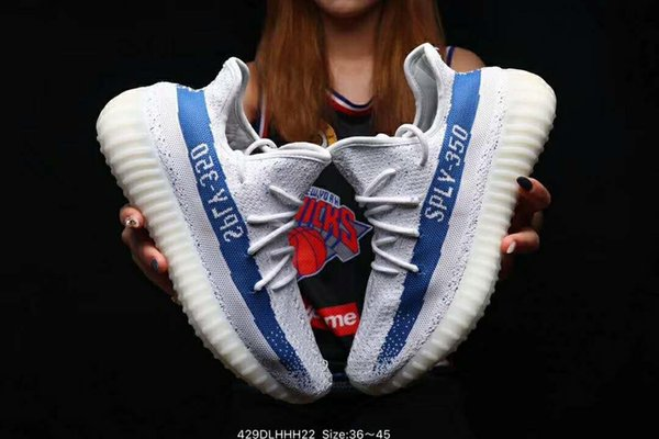 2019 Best Men Running Shoes With Box Zebra Static Black Bred Cream White Sesame Designer Shoes Mujer Sport Sneakers US 5-11