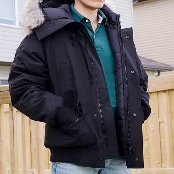 Fashion Winter Down Hooded Bomber Parka Designer Jackets Green Zippers Jacket Men Warm Coat Outdoor Coats Cheap Sale