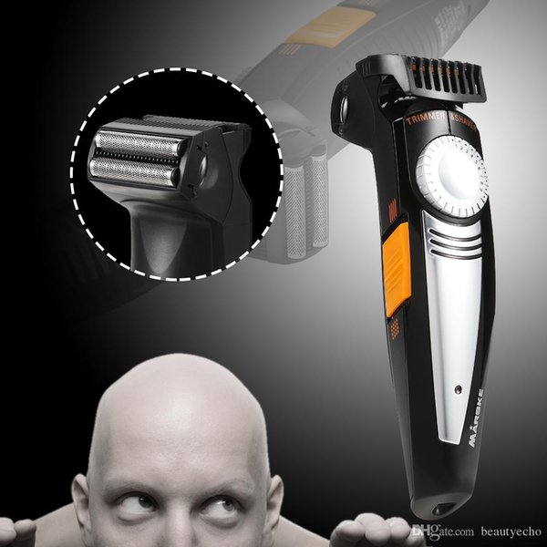 MARSKE USB Tondeuse Électrique Rechargeable Tondeuse Tondeuse À Barbe Découpée Rasoir Double Feuille Professionnel Machine De Coupe De Cheveux