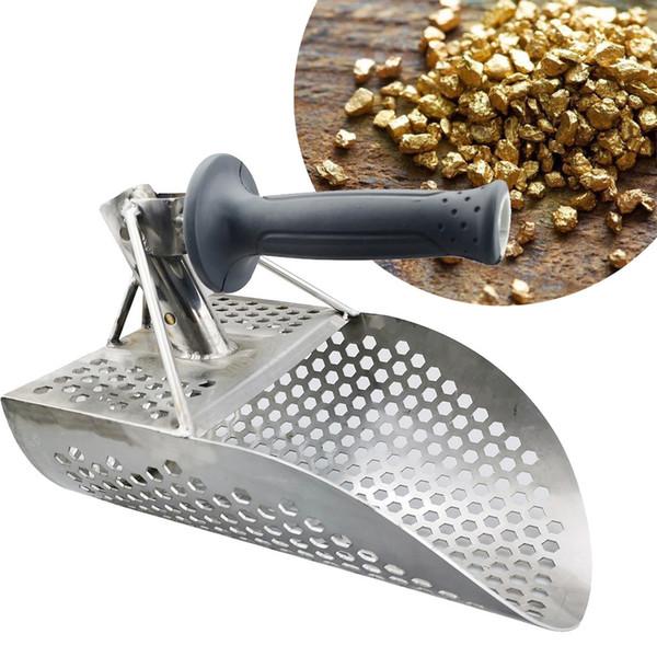 1PC Sand Scoop For Metal Detector rilevare utensili del metallo dell'acciaio inossidabile della famiglia Casa Accessori Dropshipping Nuovo