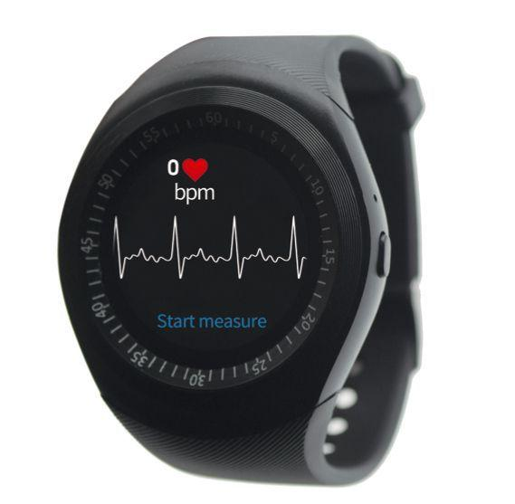Y1X smart watch measures heart rate monitors health Can insert card phone watches