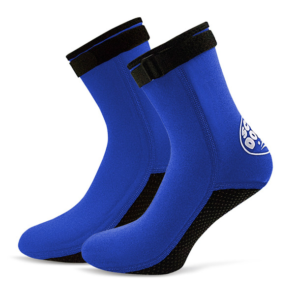 Cheap Swimming Fins 3MM Neoprene Diving Socks Boots Water Shoes Beach Booties Snorkeling Diving Surfing Boots for Men Women