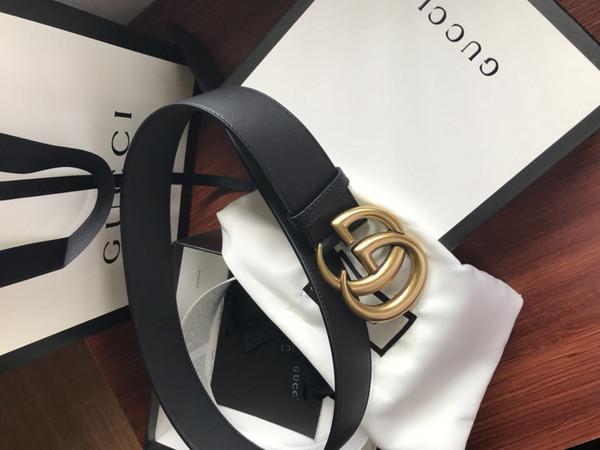 Cinto 2018 Hot Moda de Couro Do Couro das mulheres cinto de jeans Designer de Luxo Famosa de Alta qualidade Fivela Automática das mulheres Cintos para as mulheres