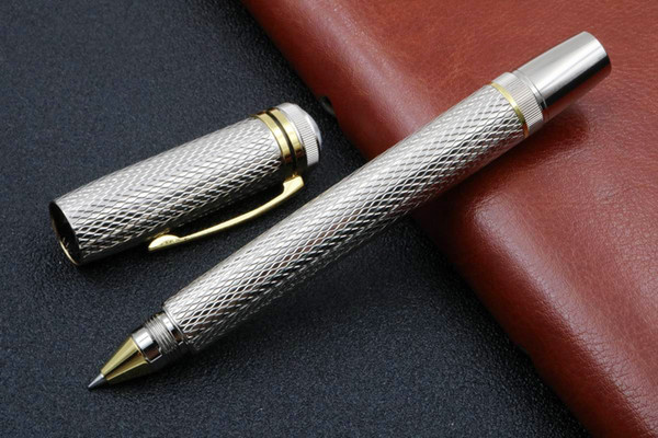 top popular new Writing Luxurious metal Mozart series silver pattern ROLLERball PEN 2020