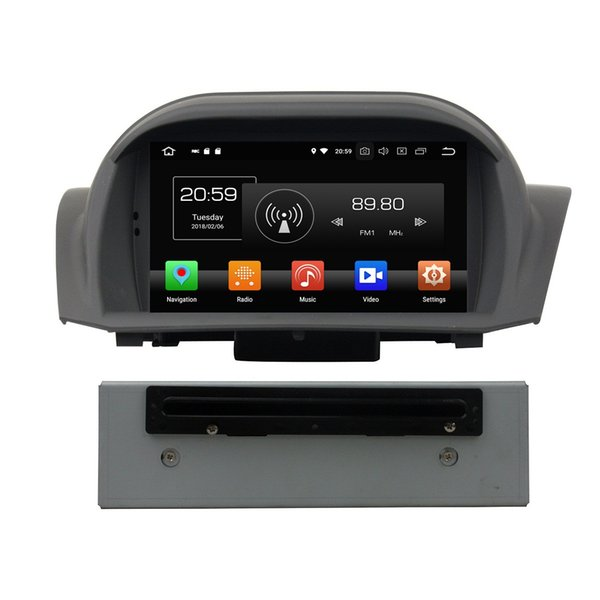 "4GB RAM Octa Core 1 din 7"" Android 8.0 Car DVD Player for Ford Fiesta 2011-2016 With Radio GPS 4G WIFI Bluetooth USB Mirror-link"