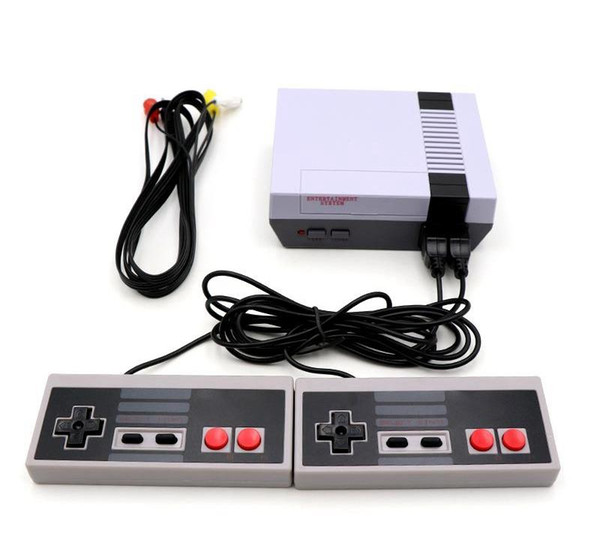Most popular Mini TV can store 620 500 Game Console Video Handheld for NES games consoles with retail boxs DHL