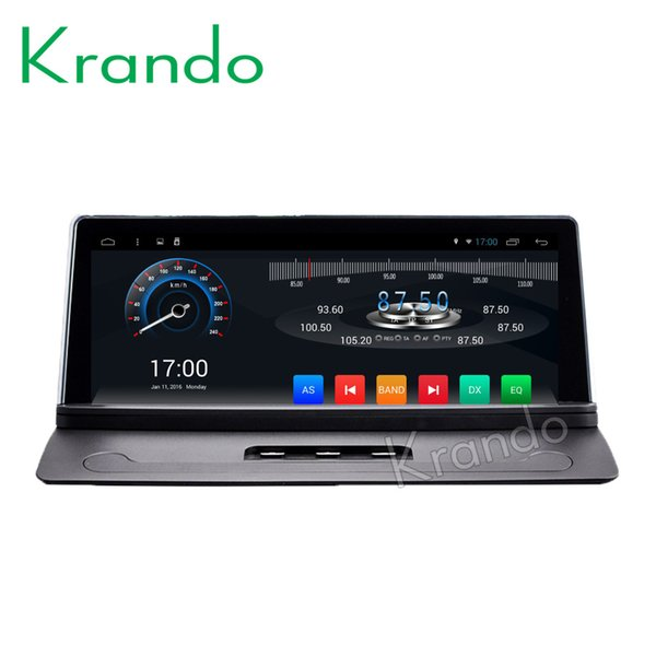 "Krando Android 7.1 8.8"" Full touch car DVD player radio GPS for Volvo XC90 2007-2013 entertainment system stereo multimedia WiFi BT"