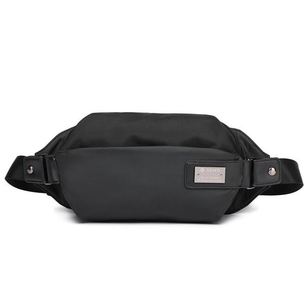 Mode Étanche Hommes Taille Pack Multifonction Fanny Pack Téléphone Sac pour Homme Voyage Poitrine Sac Taille Sacs