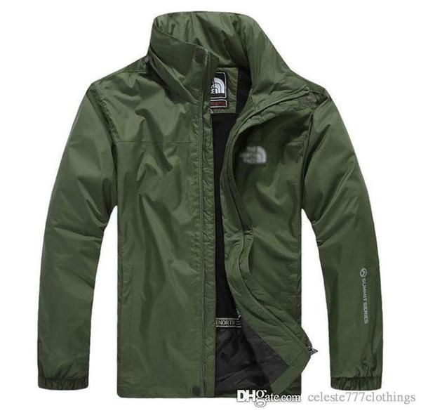 2019 SUPER populaire concepteur vestes à glissière mens capuche printemps casual manteau mince coupe-vent amérique du nord joue vêtements plus taille s-5xl