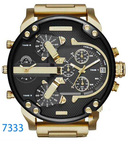 marque Sport militaire hommes nouveaux moteurs diesel montres gros cadran d'affichage de reloj originale montres montre dz dz7331 DZ7312 DZ7315 DZ7333 DZ7311