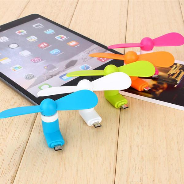 Mini-USB-Lüfter 5pin Flexible kleine tragbare Super-Mute-Kühler Kühlung für iPhone Samsung Android Cellphone