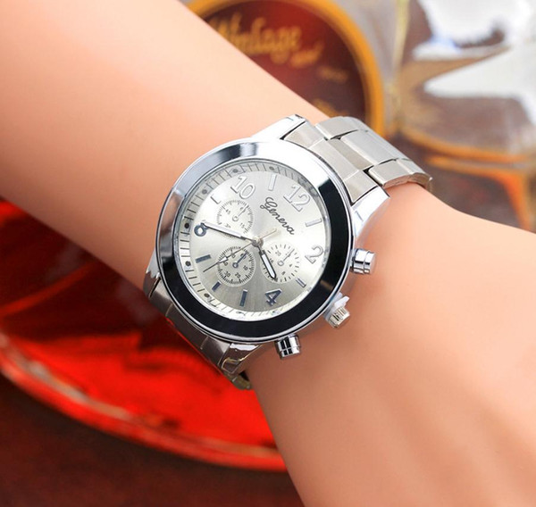 European and American hot-selling three-eye alloy watch