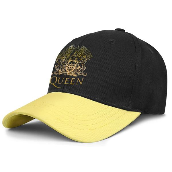 Womens Mens Plain Adjustable Queen Band Freddie Mercury Shirt, Queen British Rock Band Hoodie Punk Hip-Hop Cotton Snapback Hat Bucket Sun H