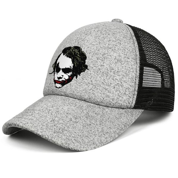 Batman Joker head art kids baseball caps Curved Teen baseball cap Youth grey cap cute baseball caps hats