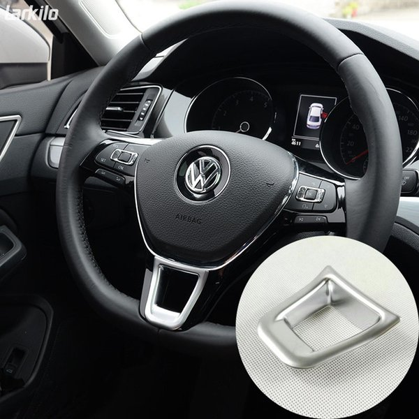Truck Interior Accessories >> Abs Matte Interior Car Steering Wheels Cover Trim For Volkswagen Vw Touran 2016 2018 Cool Interior Truck Accessories Cool Truck Interior Accessories