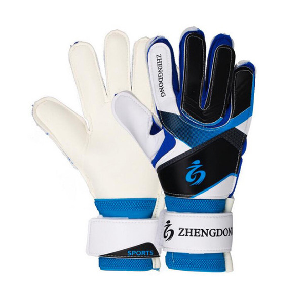 top popular Adult Men Women Children Youth Primary Level Football Goalkeeper Gloves Non-slip Latex Kids Training Soccer Gloves 2021