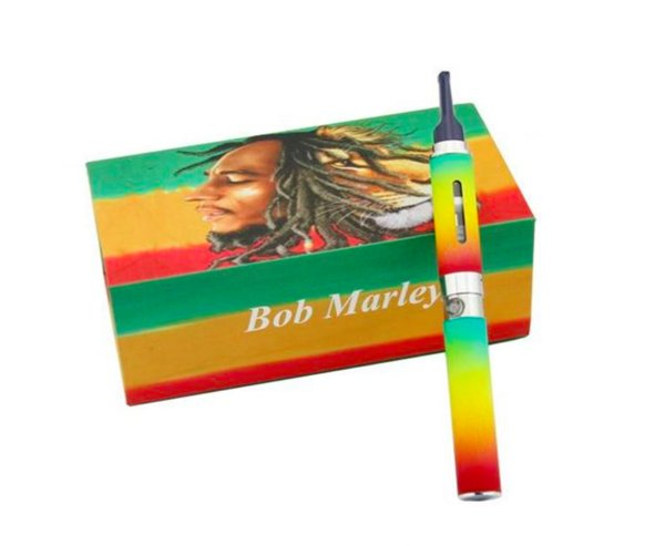 Bob marley box kit dry herbal vaporizer vape pens wax Dry herb atomizer fit for ego-t battery DHL free shipping