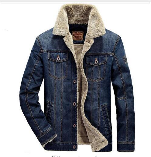 Verdicken M ~ Herren Großhandel Jeansjacke 4xl Mode Warme Männlich Rodeo Winter Jacke Mäntel Männer Und Jacken Von Neue Outwear Gefüttert Denim n0PX8kwO
