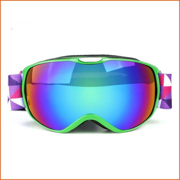 Winter Kids Ski Goggles Double Anti-fog Snowboard Goggles Children Ski Glasses Boys Girls Snowmobile Windproof