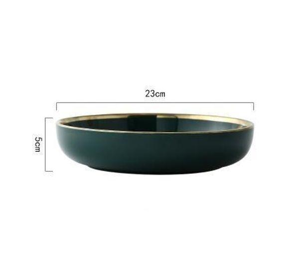 9 inch deep plate
