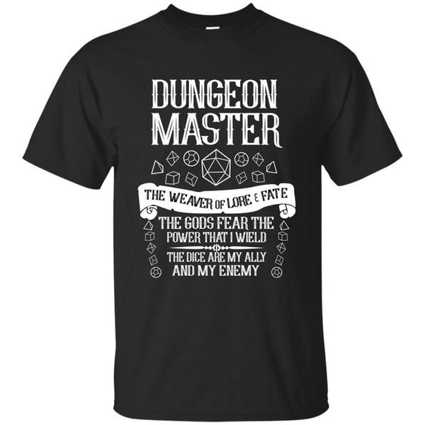 Männer das Dungeons-Drachemastert-shirtoberseite freies Verschiffen T-Shirt lustiges 100% Baumwollt-shirt harajuku Sommer 2018 T-Shirt