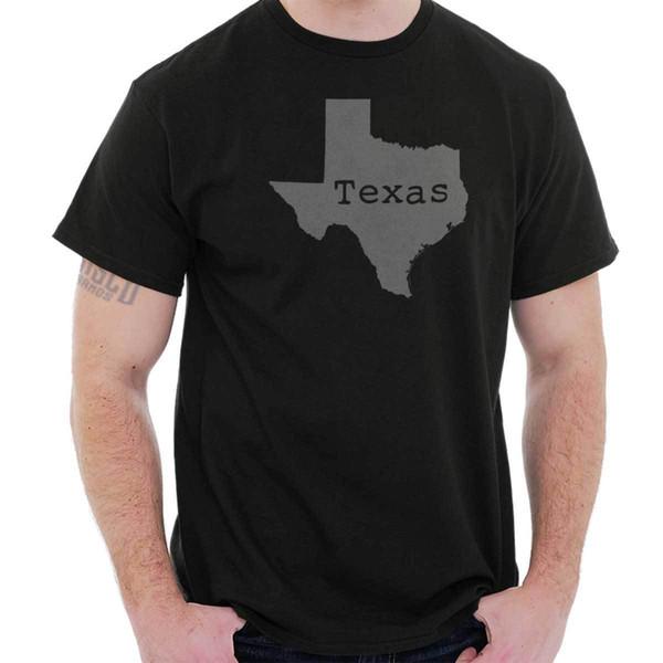 Texas State Shirt State Pride США T новинка идеи подарка графический футболка Tee пользовательские футболка логотип текст фото мужские женские футболки мужчины
