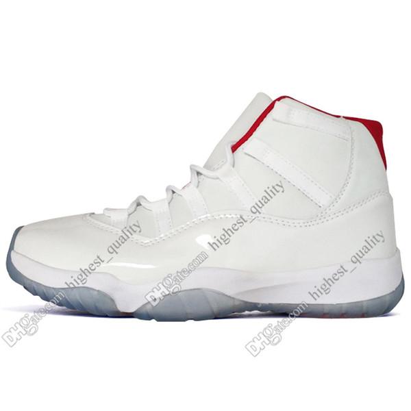 # 11 Alto Blanco Rojo