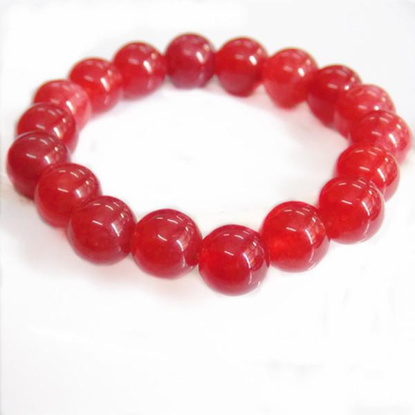 Factory direct sale Crystal bracelet boutique ladies Korean version 10mm hand string jewelry natural onyx jade bracelet