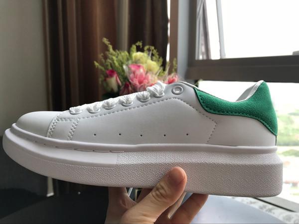 أبيض / أخضر