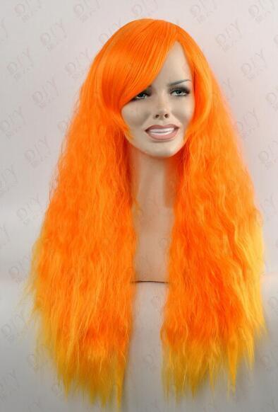 ENVÍO GRATIS ++ + Nueva moda con encanto naranja larga 70 cm / 28