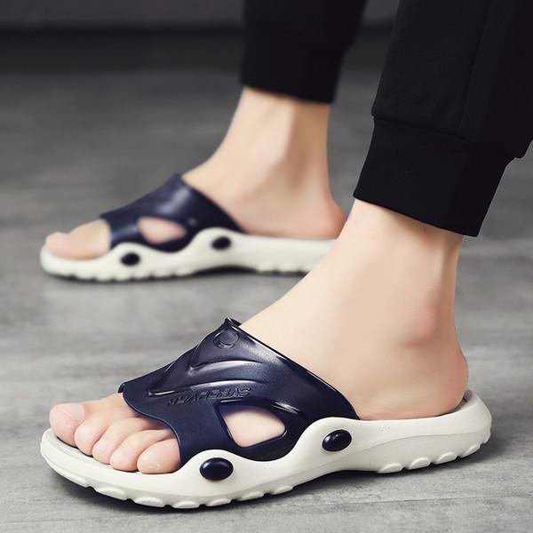 Scarpe nuovi uomini dei sandali pistoni di estate della spiaggia degli uomini all'aperto Casual Shoes economici per Malé Sandali acqua Sandalia Masculina