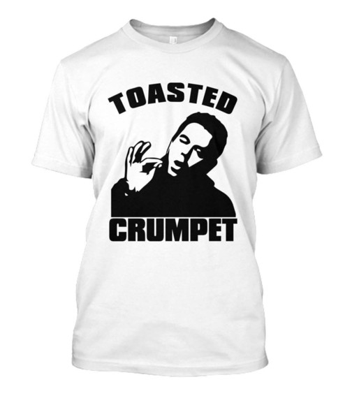 Danny Dyer Toasted Crumpet T shirt - Eastenders Britain's hardest men, Cockney suit hat pink t-shirt