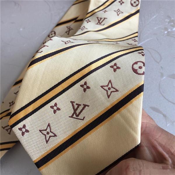 Men's man classic silk polyester tie men designer brand ties fashion business tie wedding dress shirt tie