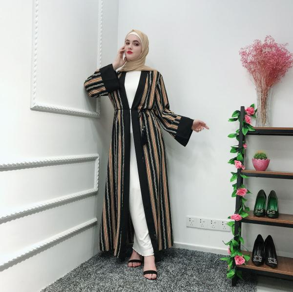 open abaya L