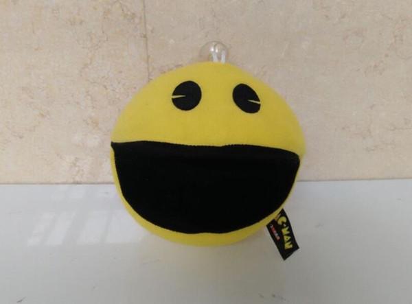 1 STÜCKE Für PIXEL Film Pacman Stofftier Puppe Und Pac Man Pac-man Lächelndes gesicht Plüschtiere Q bert, weihnachtsgeschenke