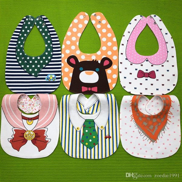 Baby Bibs Soft Baby Feeding Apron Burp Cloths Newborn Bandana Children Bibs
