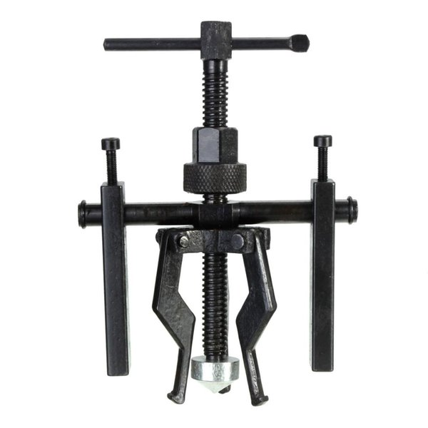 Akozon 3-Jaw Inner Bearing Puller Tool Gear Extractor Heavy for Duty Automotive Machine