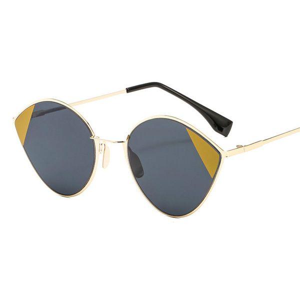 fcd58e02ebe55 Gato do vintage óculos de sol das mulheres dos homens máscaras retro  clássico óculos de sol