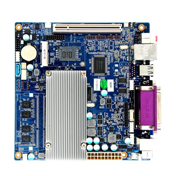 Mini-ITX incrustado placa base industrial max DDR3 de 4 GB de RAM 1 * 5 * Lan COM