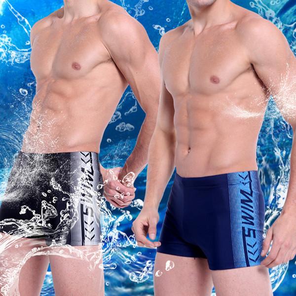 Traje de baño para hombre Maillot De bain Traje de baño Calzoncillos de natación Sunga de praia Shorts de playa