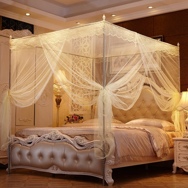 Prenses Kelebek Önleme Cibinlik Ev Tekstili Saray Cibinlik Üç Kapı VT0150 için Cibinlik Sivrisinek Net