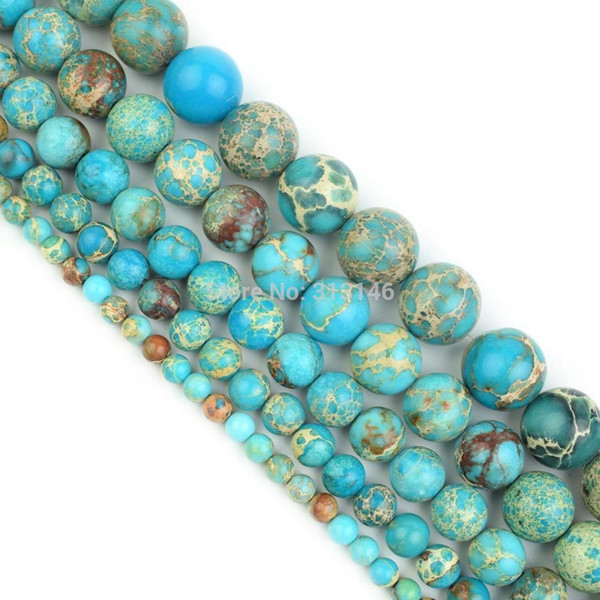 Assorted Natural Round Full Strand Healing Gem Semi Precious Stone Beads for DIY