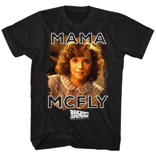 Back To The Future Mama McFly Adulto camiseta Grande