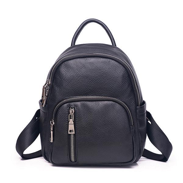 High quality genuine leather women backpack famous designer Travel Bag real leather lady shoulder bag 532