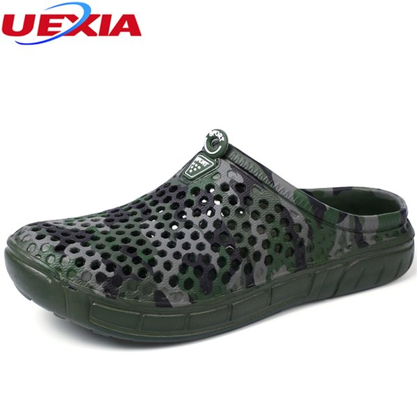 UEXIA Summer Men Designer Flip Flops Men's Casual Fashion Slippers Breathable Beach Shoes Soft Comfortable Anti-skid Comfortable