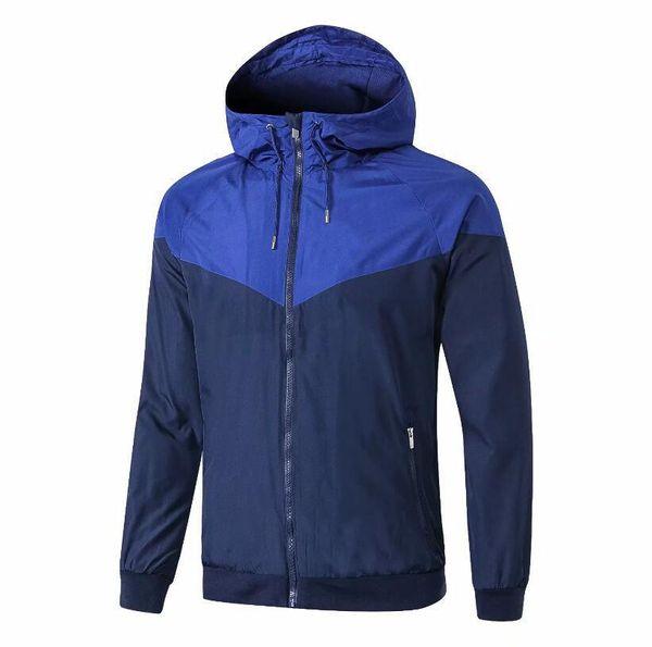 TOP 2 Inicia o casaco de capuz com capuz MBAPPE França 18 19 veste treino de zíper completo Survetements Campeão da França Maillot de foot training jacket